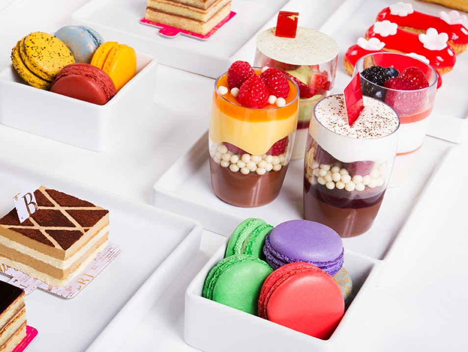 Brunch, Macarons, and More at Bottega Louie