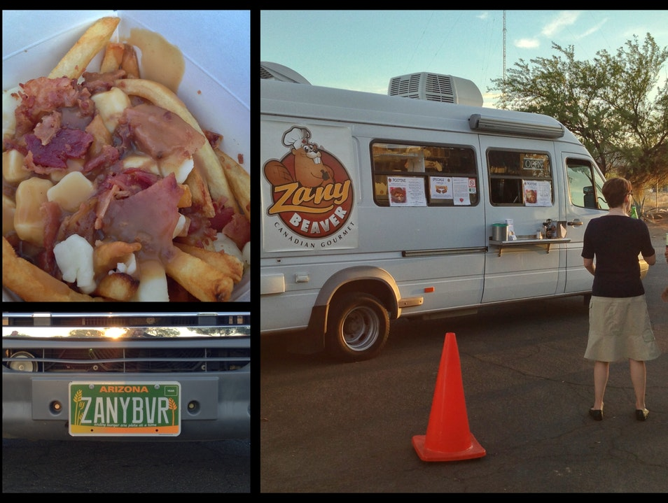 """Poutine"" Comes to the Desert—in a Truck Tucson Arizona United States"