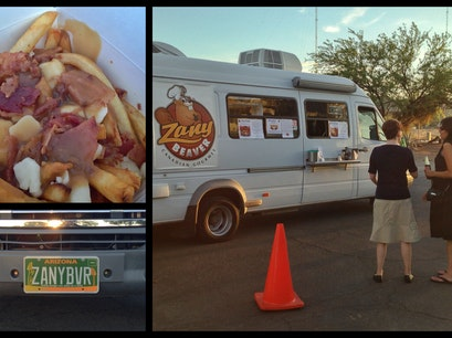 Zany Beaver food truck Tucson Arizona United States
