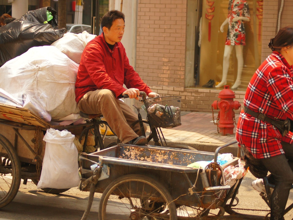 Hitching a Ride Shanghai  China