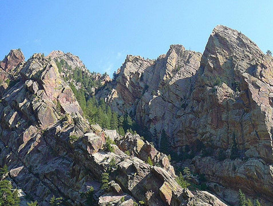 Visiting Eldorado Canyon State Park Boulder Colorado United States