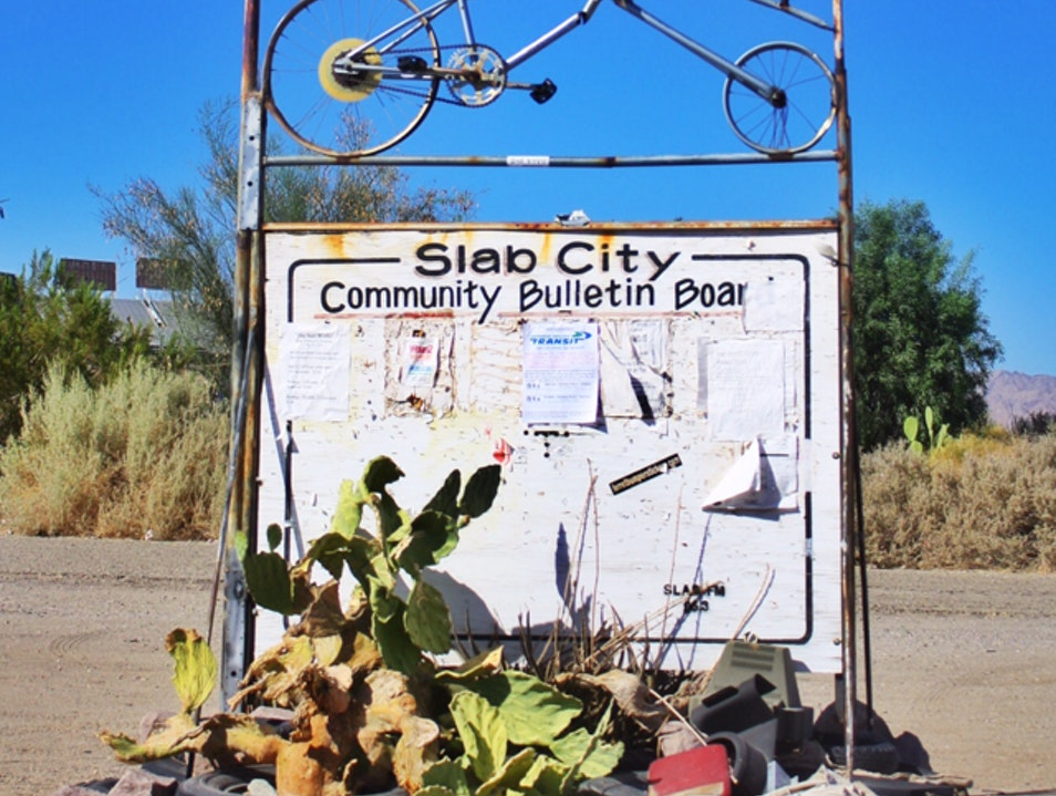 Slab City: Where Burning Man lives Full-Time Slab City California United States