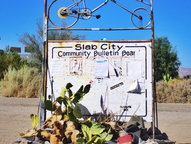 Slab City: Where Burning Man lives Full-Time