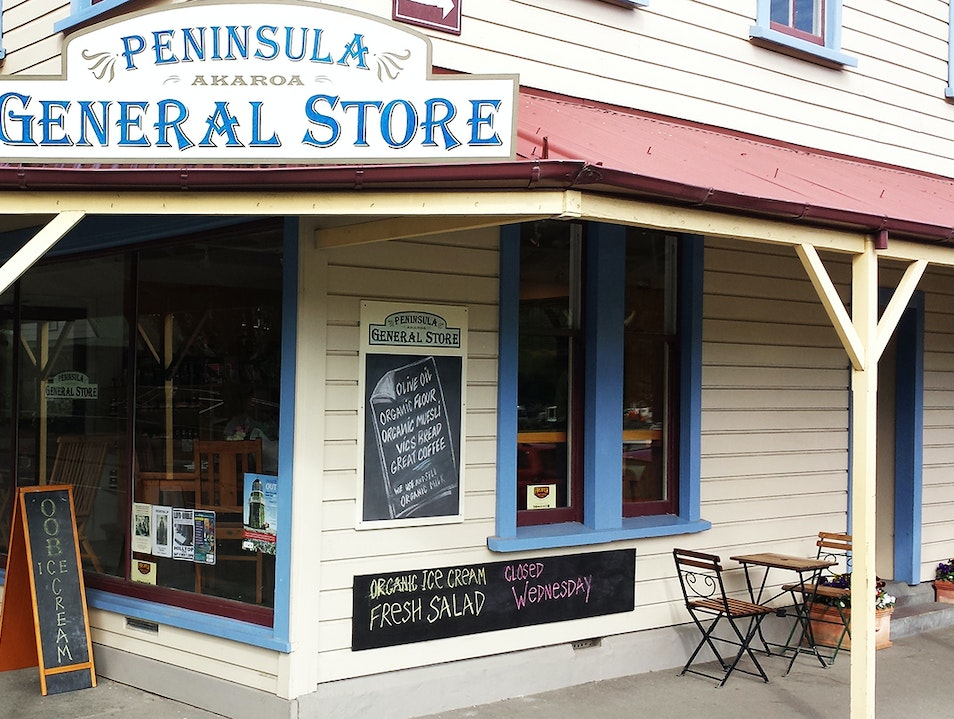 Peninsula General Store Akaroa  New Zealand