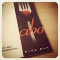 Cibo Wine Bar   Earth