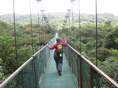 Monteverde - suspension bridge canopy tour Puntarenas  Costa Rica