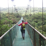 Monteverde - suspension bridge canopy tour
