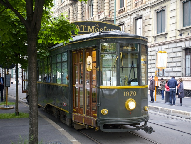 Milan: Dinner on a Historic Tram