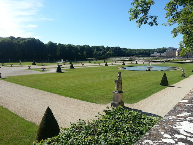 A Stunning Palace-Garden Outside Paris