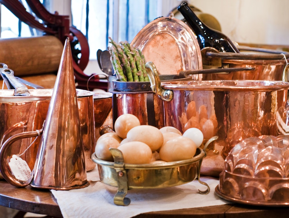 Culinary Antiques at Lucullus