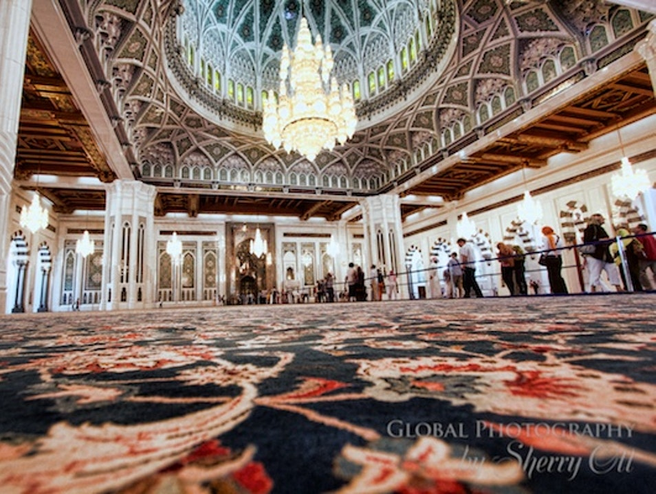 The Grandest Mosque in Muscat Muscat  Oman