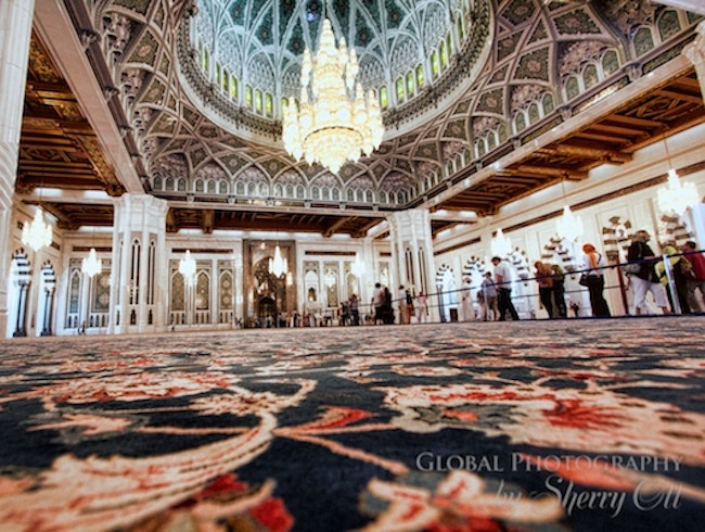 The Grandest Mosque in Muscat