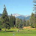 Nicklaus North Golf Course & Table Nineteen Lakeside Eatery Whistler  Canada