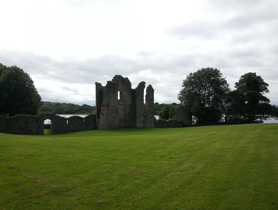 Picturesque country house & ruins  Fermanagh  United Kingdom