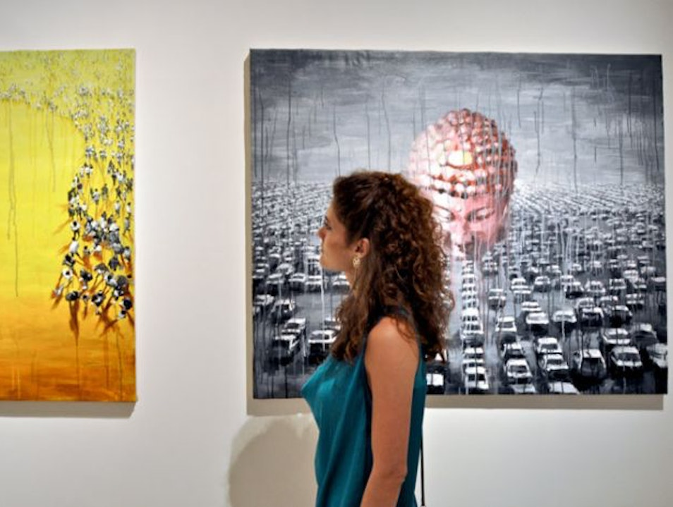 Contemporary Art in Florence: Aria Art Gallery