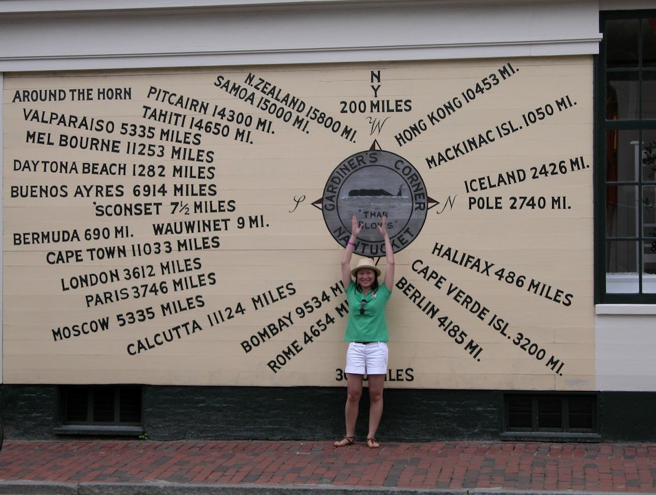 Nantucket's Compass Rose Landmark Nantucket Massachusetts United States