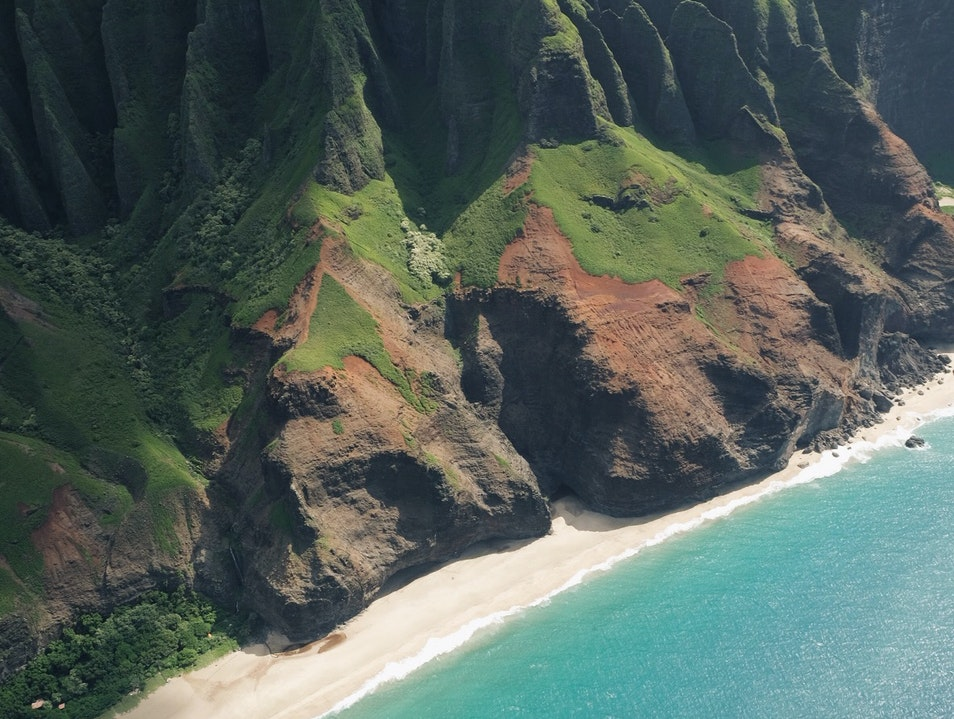 Helicopter Tours over the Napali Coast