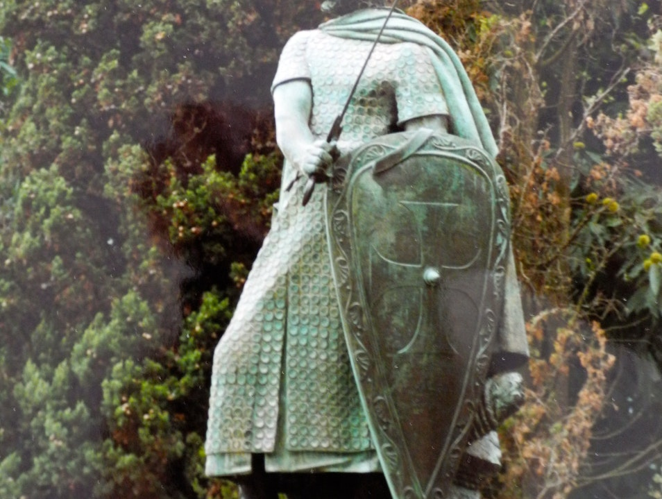 The First Portuguese King Guimaraes  Portugal