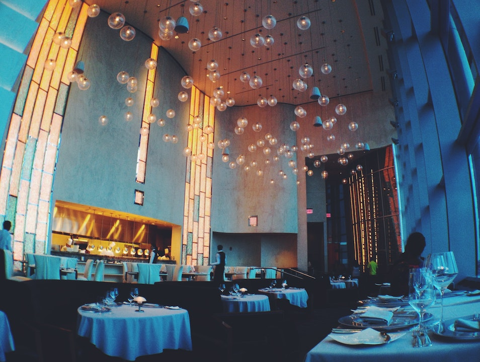 Fine Dining with a Fine View Detroit Michigan United States