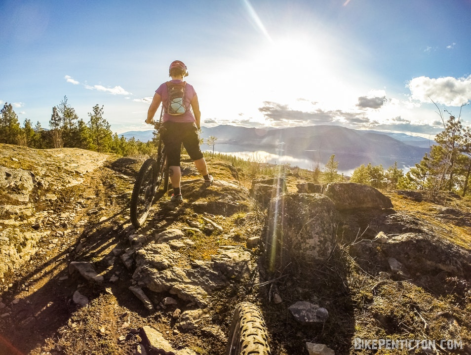 Replacing Puddles with Pedals - Cycling the Southern Okanagan in Penticton, Canada