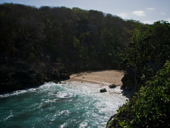 Archer Bay, A Secluded Beach Fit For a Super Spy