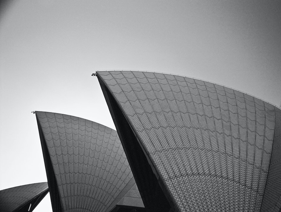 Architectural Photography at the Sydney Opera House Sydney  Australia