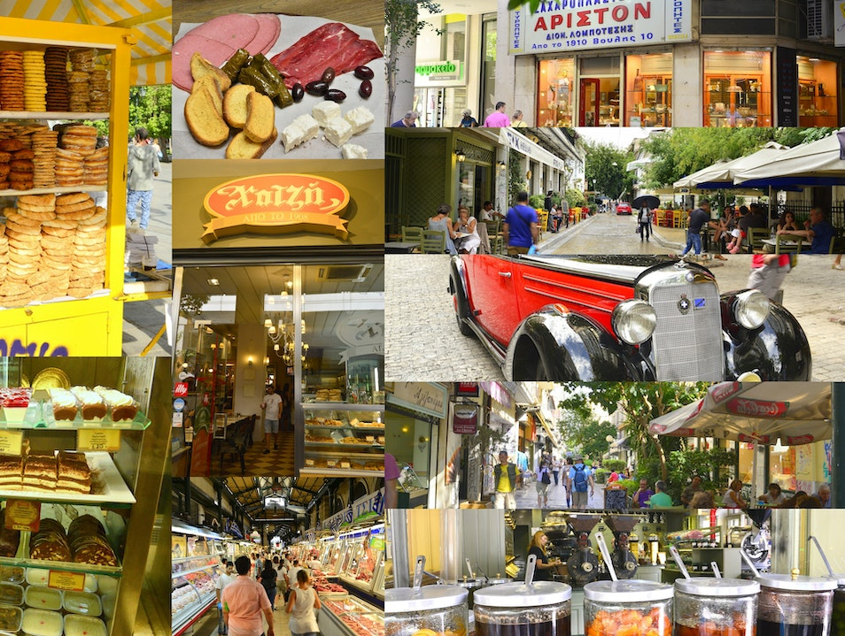 Greeking.Me :  A Tour For The Foodie In Athens Greece Kallithea  Greece