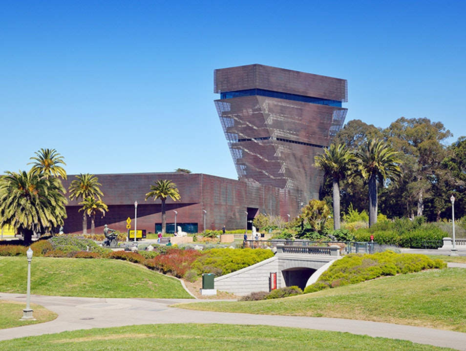 Fine Art Inside and Out at the de Young San Francisco California United States