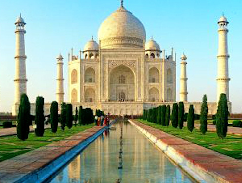 UNESCO World Heritage Sites - Taj Mahal Agra  India