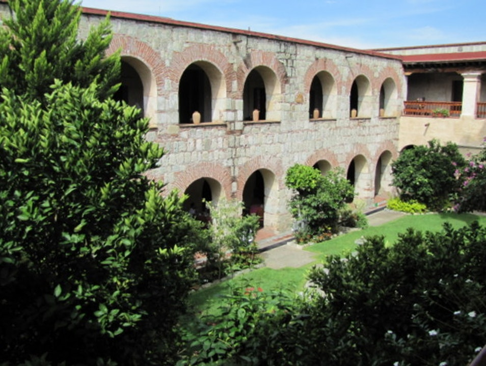 Convent Converted to Luxury Hotel Oaxaca  Mexico