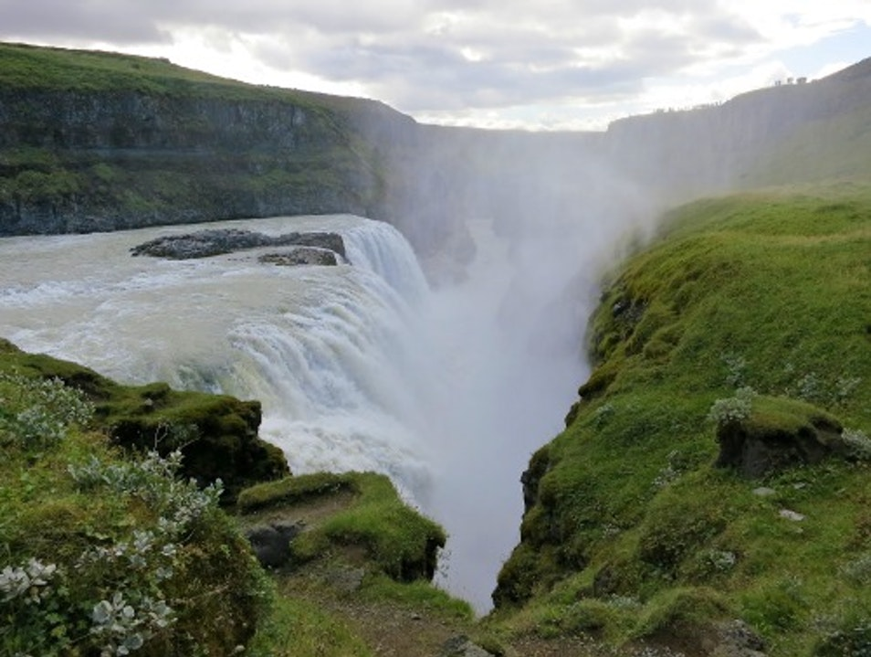 Gullfoss South  Iceland