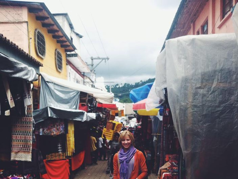 Wandering in the Market  Chichicastenango  Guatemala