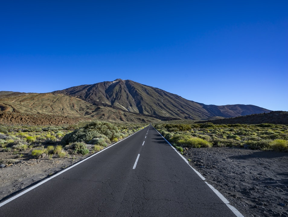 El Teide Volcano and National Park La Orotava  Spain