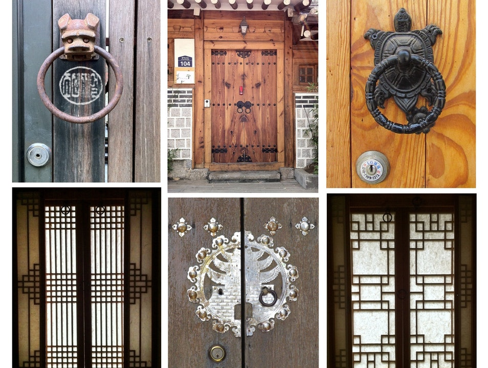 Doorways in Buk-chon, Seoul Seoul  South Korea