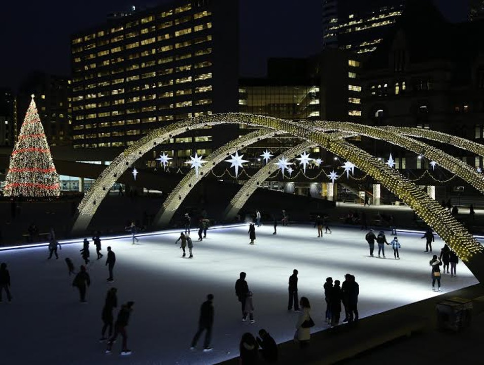 The Quintessential Winter Activity in Toronto: Ice Skating!  Toronto  Canada