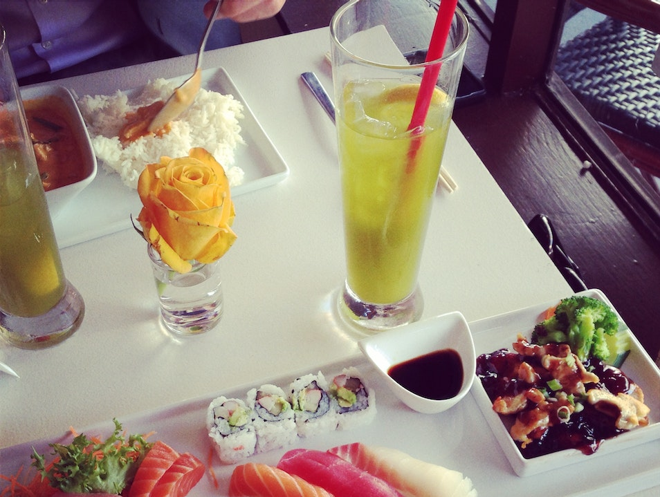 The Best Japanese and Thai Lunch Special in Miami Miami Florida United States