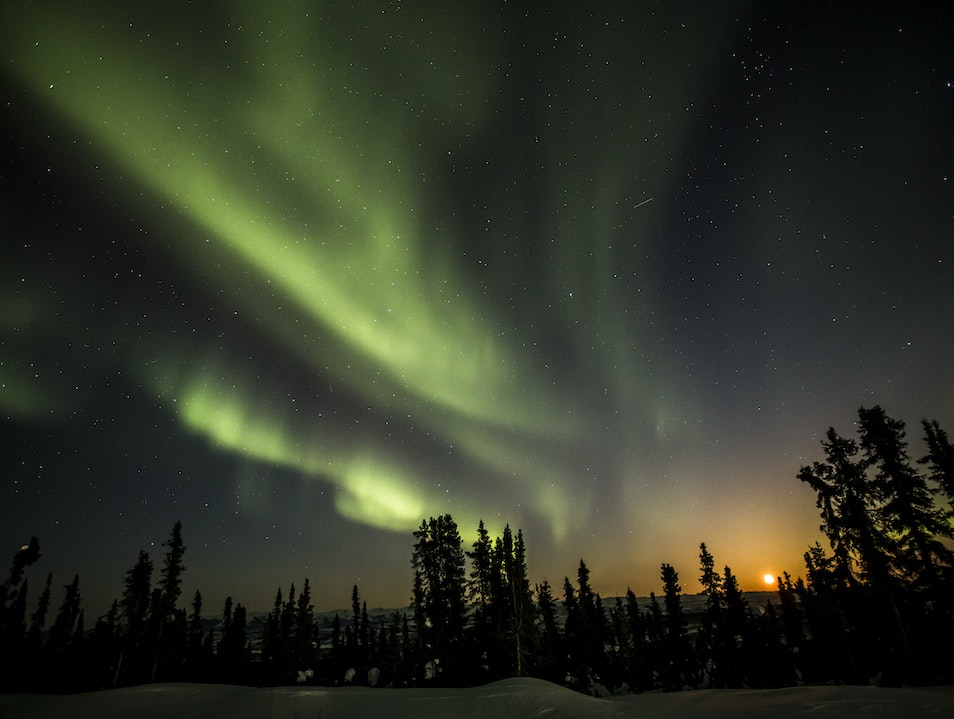 Stellar Light Show Whitehorse  Canada