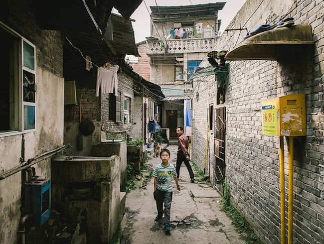 The Secret Alleys of Chongqing