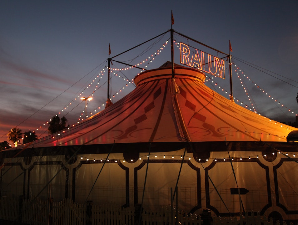 Just when you're having fun...along comes a circus Barcelona  Spain