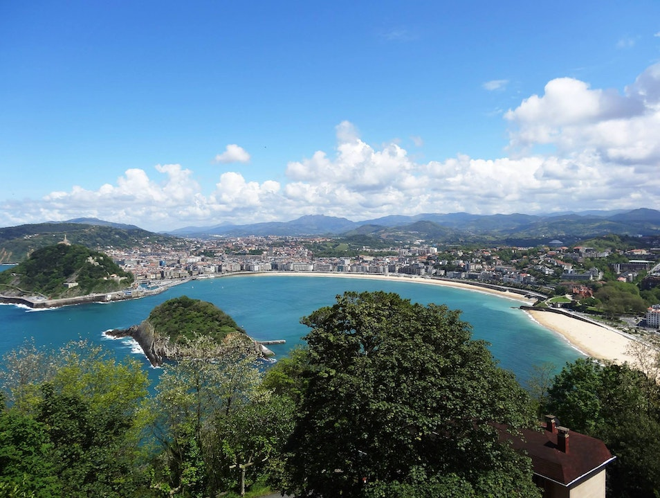 In my opinion...better than Madrid and Barcelona.  San Sebastian  Spain