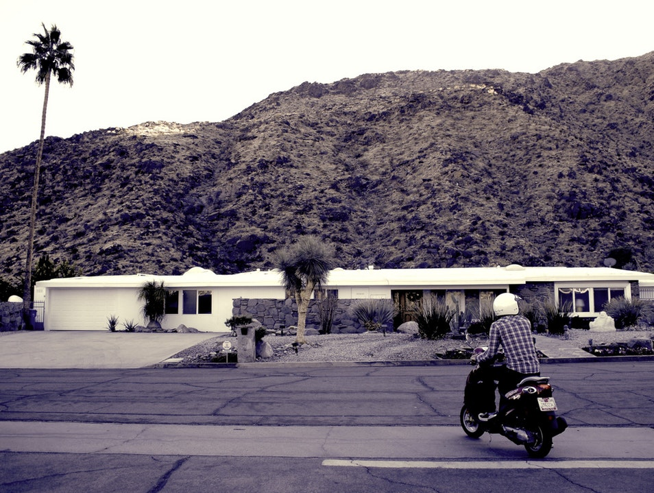 Palm Springs on Two Wheels Palm Springs California United States