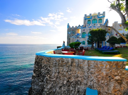 Blue Cave Castle West End  Jamaica