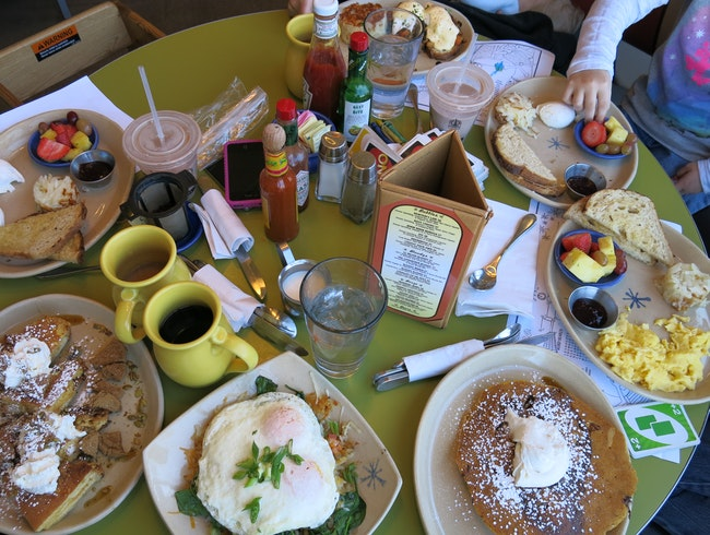 Family Breakfast at Snooze