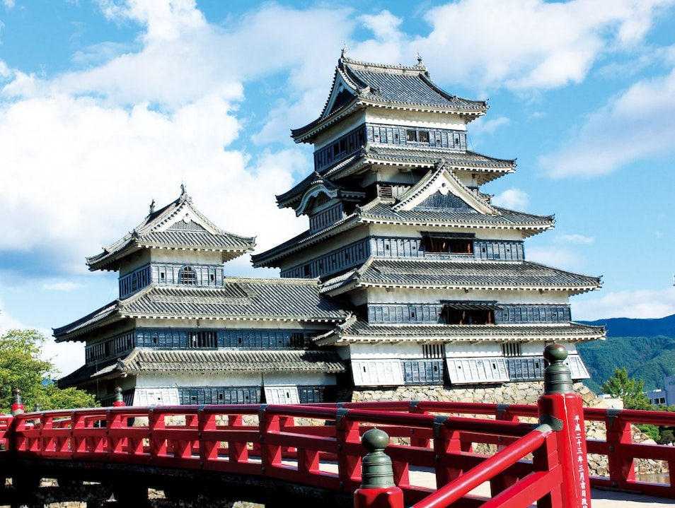 Scaling the Mighty Matsumoto Castle