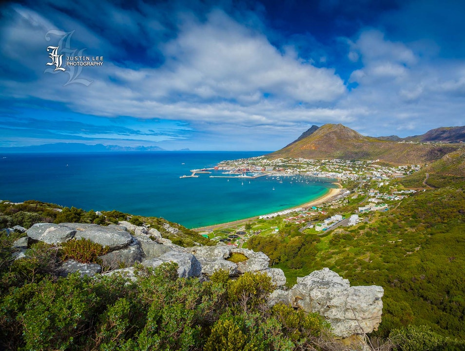 Searching for Submarines in Simon's Town Cape Town  South Africa