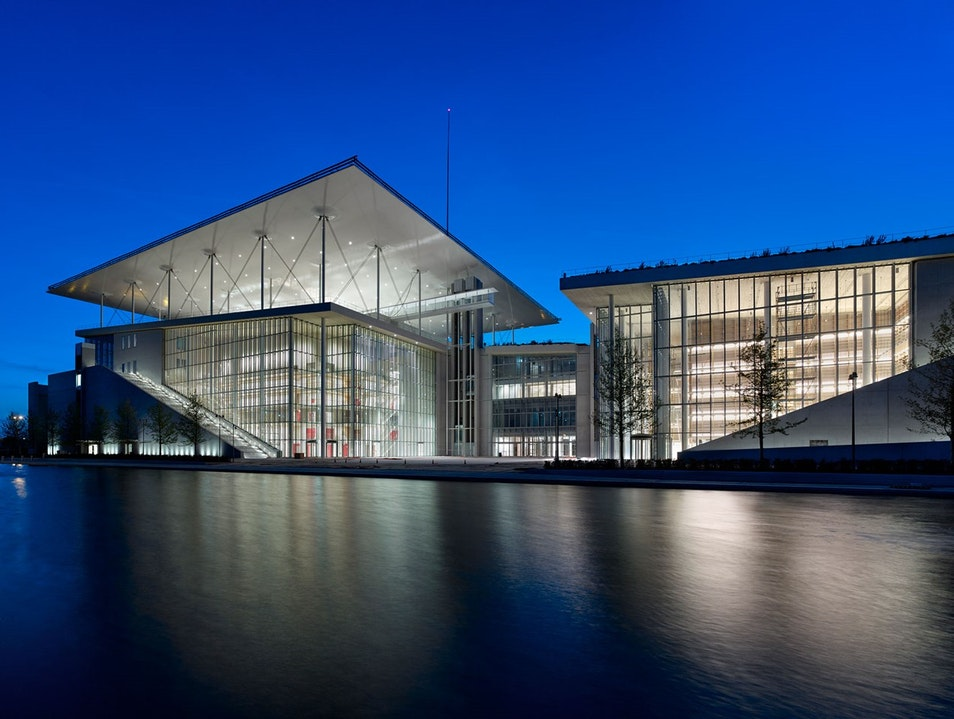 Stavros Niarchos Foundation Cultural Center Athens  Greece