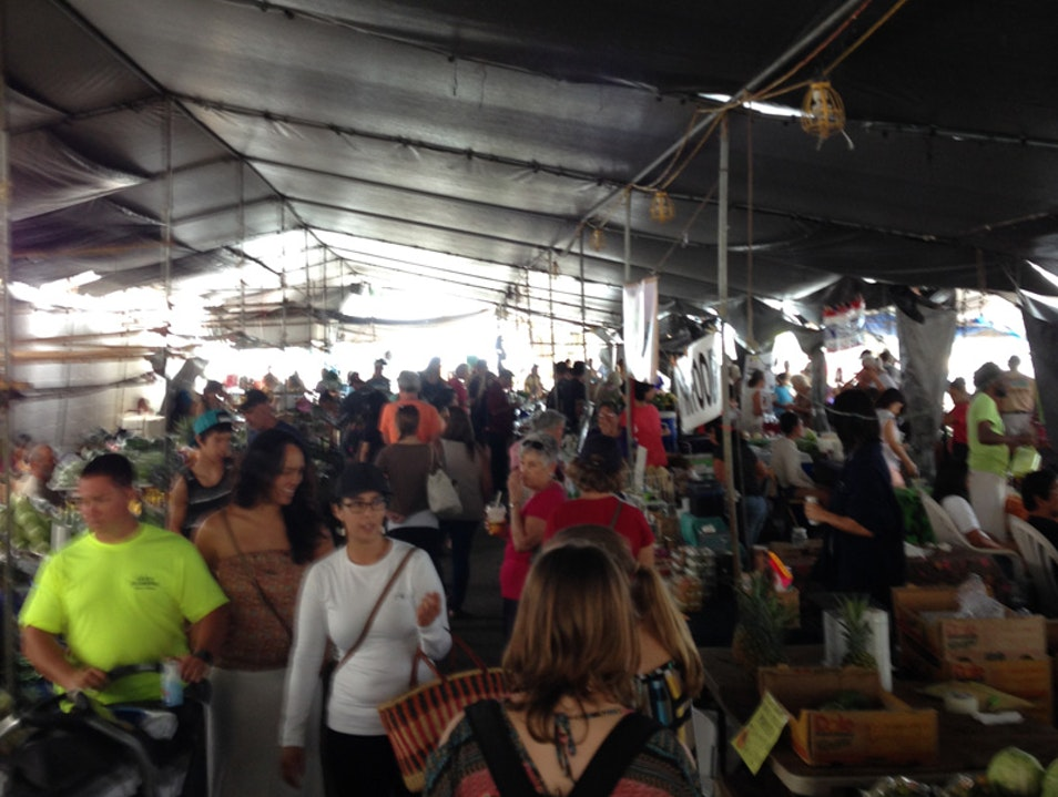 Hilo Farmer's Market for Locals and Tourists Alike Hilo Hawaii United States