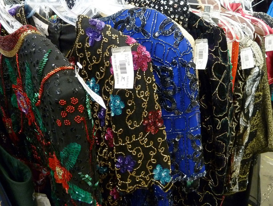 Seattle Goodwill's Glitter Sale Seattle Washington United States