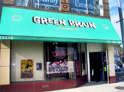 Green Brain Comics Dearborn Michigan United States