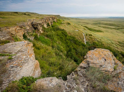 Head-Smashed-In Buffalo Jump Fort MacLeod  Canada